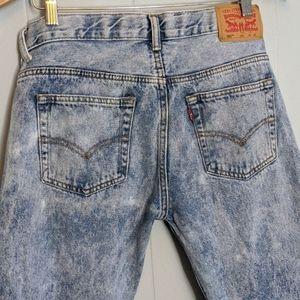 Levi's Jeans - Levi's Cropped Dad Jeans 505's